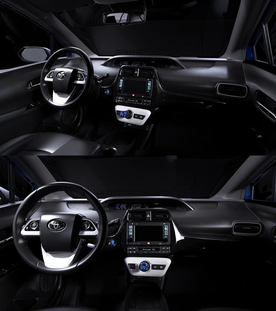 Prius Interior - Studio Lighting Study