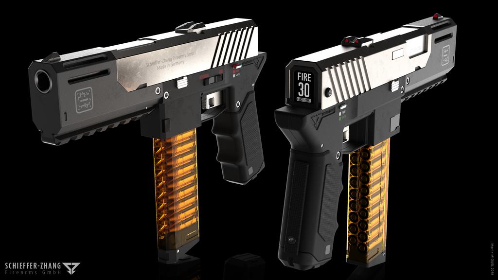 SZF Machine Pistol A