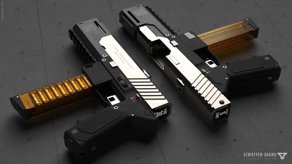 SZF Machine Pistol B